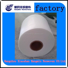 Spunlace nonwoven fabric as synthetic PU leather base cloth for Car Seat/Home Textile/Shoes/Sofa