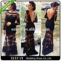 Sexy Black sex mother of the bride dress From China