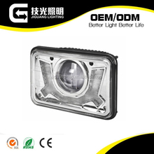 5 inch rectangle DRL daytime running light motorcycle auto car led driving headlights