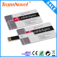 Promotional Gift Business usb memory cardThinnest Plastic USB Card with printing on both sides