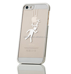 Ultra Thin Transparent Mobile Phone Bags & Cases with fashion pattern