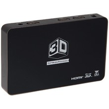 2D to 3D HD Video DLP converter box for lcd tv support HDMI 1.4 1080P