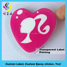 Super quality hotsell custom stickers mark clear