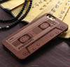 Laser engraving custom design wooden cell phone case for iPhone 6S plus case wood factory price