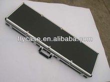 Hard aluminum gun carry case aluminum gun case