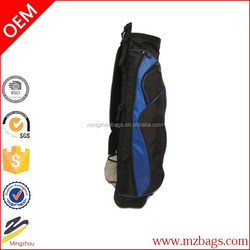 High quality nylon sports stylish golf bag stand attachment
