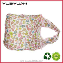 High Quality New Fashion Wholesale Reusable PP Nonwoven Cotton Polyester Folding Shopping Bag