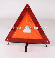 reflector warning triangle, traffic lights, car rescue tools, emergency toolwith iron back