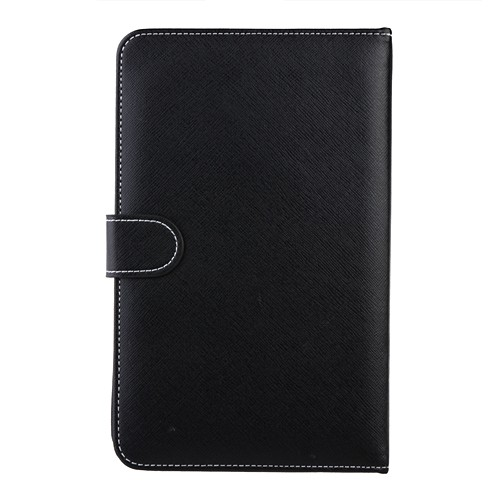 Universal 7 inch Android Tablet Leather Flip Case Cover 7inch PC Tablet Leather Case With English Keyboard