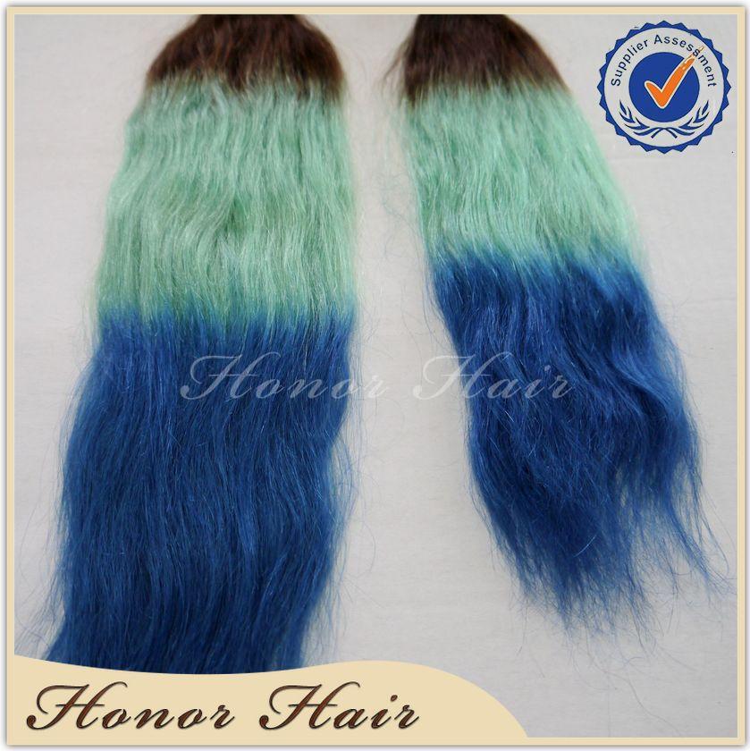 Crochet Hair Ombre : Blue Ombre Crochet Braids Hair newhairstylesformen2014.com