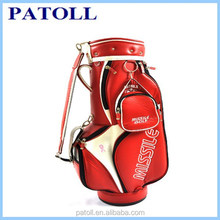 Patoll alibaba BCSI audit custom waterproof golf bag shoulder strap