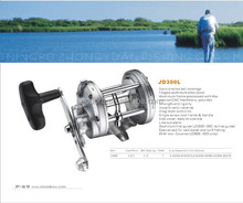 New model cnc cutting machined 50W 9BB fishing reel golden fishing reel ,big game fishing gear