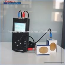 computadora de mano medidor de flujo ultrasónico para el caudal totalizador de flujo de medición