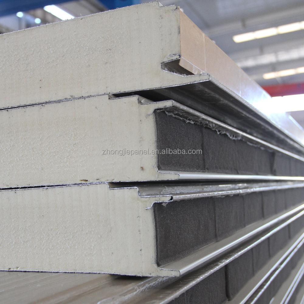 Sandwich Panel Cladding : Polyurethane sandwich panels for wall cladding buy