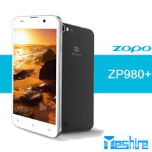 5.0 inch Zopo 980+ Corning Gorilla Glass MTK6592, Cortex A7 Octa core Android 4.2.2 dual cameras mobile phone