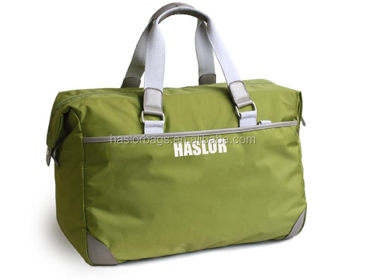 2015 hot vente polyester imperméable sac de voyage de grande capacité