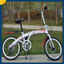 New 2014 Folding Bicycle/ Bike Foldable Bicycle/Bike 21 Speed with Brand Derailleur