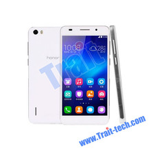 2014 Hot Sale original Brand New 4G Huawei Honor 6 LTE mobilephone Octa Core16GB ROM smart phone Support Bluetooth Dual Cameras