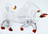 Item HSB 84 unique design animal shape wine glass bottle.
