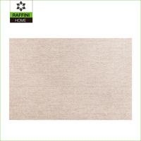 Hollowed paper straw woven Decorative Placemat