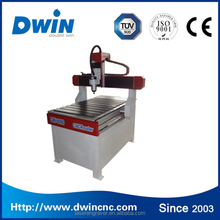 Jinan factory cheap 600*900mm 2.2kw spindle 4 axis mini cnc router for aluminum