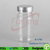high transparent color plastic bottle