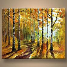venta al por mayor hecho a mano moderna pintura de artículos de decoración