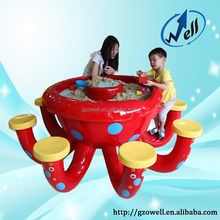 Amusement Type Educational Toy, Play Octopus Sand Table for Kids