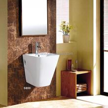 5800 Modern Design Ceramic Bathroom Wall - hung Wash Basin