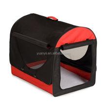Soft sided pet crate designer dog crate folding pet carrier