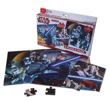 STAR WAR 48 PCS 3 in 1 paper board Jigsaw Puzzle for fun