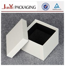 Manufacture popular style logo printed luxury handmade delicate watch box custom logo