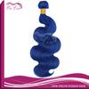 wholesale price dark blue hair extensions