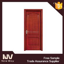 China interior wood door installation price
