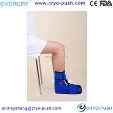 reduce swelling and ease pains effective cold therapy reusable heat and cool wrap for soccer football injury