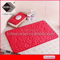 Home decorating super soft luxury shaggy modern anti-slip door mats