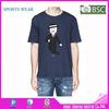 2015 New design cotton O neck t shirt/plain t shirt O neck design/mens slim fit t shirt China wholesale