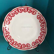 porcelain soup plate ,custom printed ceramic plate,antique chinese porcelain plate