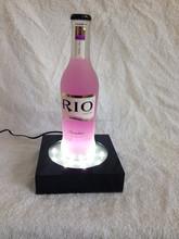decorative acrylic wine holder /LED bottle glorifiers
