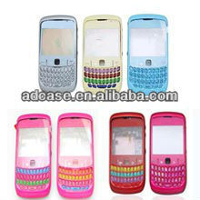 mobile phone housing for blackberry cure 8520 complete