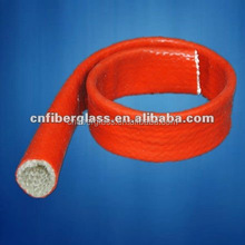 Silicone Rubber Coated cable sleeve, Fiberglass Sleeving