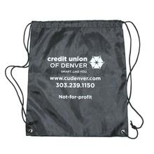 Cheap double way polyester drawstring bag