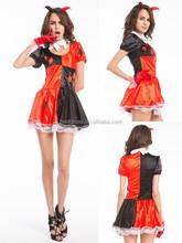 Walson instyles cosplay venta al por mayor tienda de vestuario clow circo disfraz vestidos mujer
