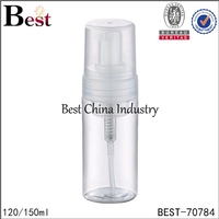 120ml 150ml spray powder bottle for personal care