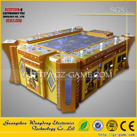 Top quality fish hunter game board gambling machine, mini fishing hunter game machine from Wangdong