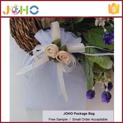 Wholesale High Quality Fashion Custom Logo Cheap Organza Drawstring small packaging bags for sale