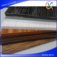 single side sandy pvc lamination sheet for furniture