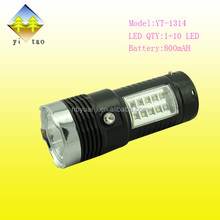 Made in China new design high brightness best price flashlight battery