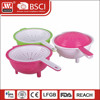 Popular plastic colander with cover
