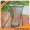 16oz Thumb Crushed Cup Glass
